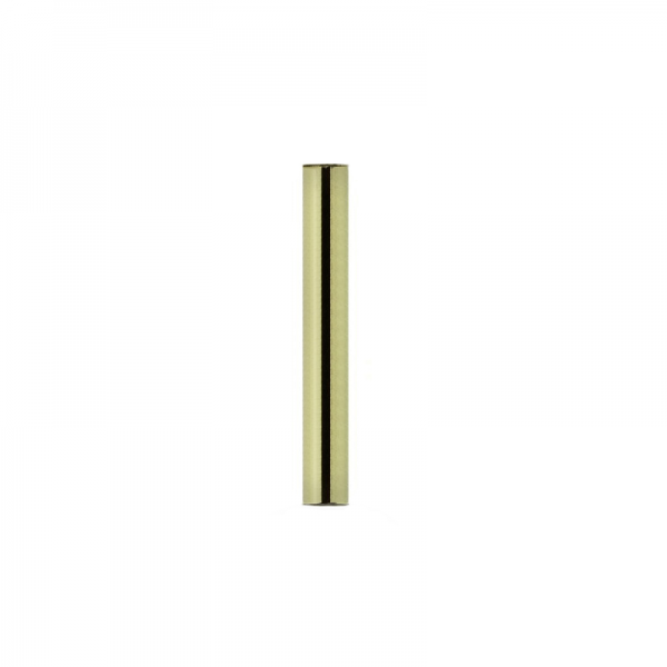 Yellow Gold Straight Barbell Shaft
