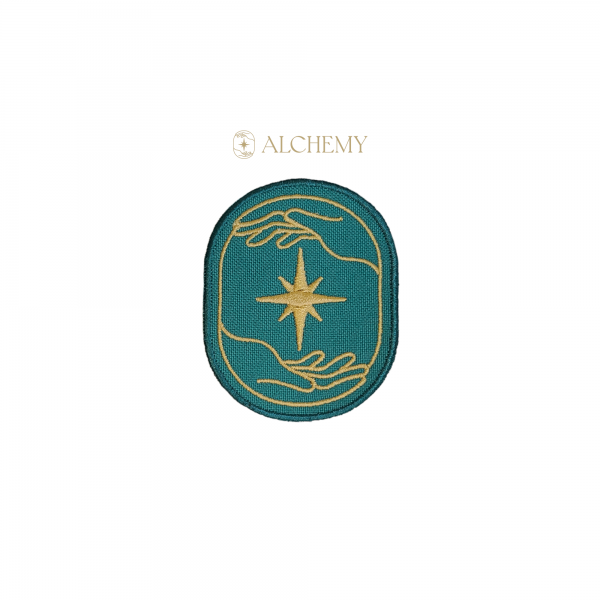 Green and Gold Alchemy Patch