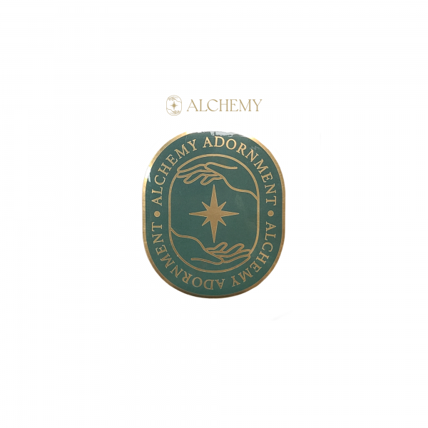 Green Alchemy Foil Sticker